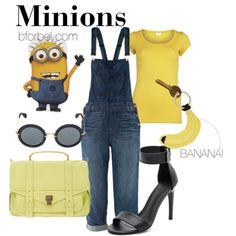 Going to be a minion for the rest of my life change the shoes into black flats but part from that yes im doing this!