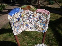 Create A Beautiful Chair From Broken China
