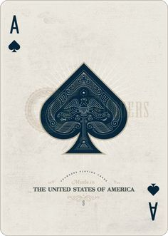 Playing Cards - Ace Of Spades, Founders by the US Playing Card Company (USPCC) - playingcards, playingcardsart, playingcardsforsale, playingcardswiththefamily, playingcardswithfamily, playingcardsgame, playingcardscollection, playingcardstorage, playingcardset, playingcardsproject, cardscollector, playingcard, design, illustration, cards, cardist