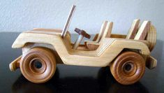 Handmade Wooden Toy Jeep, #odinstoyfactoy #handmade #handcrafted #woodentoys #toys #jeep