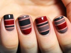 Simple Winter Nail art Ideas for Short Nails (68)
