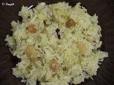 Recipe Center: Narali Bhaat (Sweet Coconut Rice)