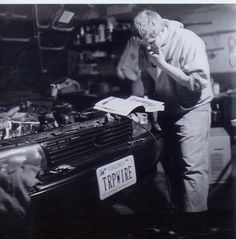 Fixing the Car reminds me of dad