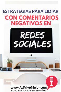Como reaccionar ante comentarios negativos en las redes sociales? #marketing #contenidodigital #emprende #redessociales #asivivomejor