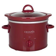 Crock-Pot 2 Qt Slow Cooker – Red – KITCHEN APPLIANCES