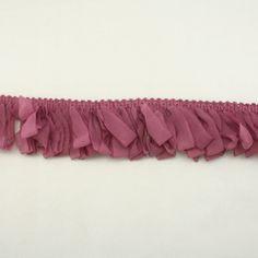 Purple Elastic Chiffon Lace Trim for Women Baby Girls by annielov, $3.50