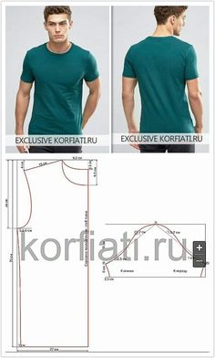 Sewing Men Clothes Ropa para hombre Get custom High Quality Men shirts at an affordable price. T Shirt Sewing Pattern, Mens Sewing Patterns, Sewing Men, Sewing Shirts, Pants Pattern, Sewing Clothes, Clothing Patterns, Diy Clothes, Mens Shirt Pattern