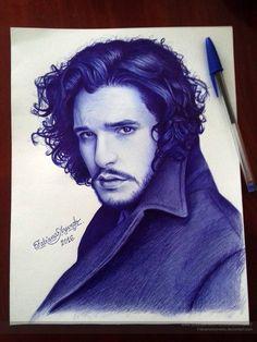 Pen Drawing by Fabiana Azevedo http://webneel.com/pen-drawings | Design Inspiration http://webneel.com | Follow us www.pinterest.com/webneel