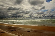 Lake Michigan and the beach, Harbert, Michigan