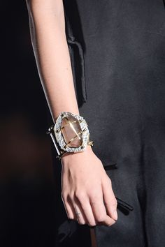Lanvin Spring 2013 Ready-to-Wear Collection - Vogue Jewelry Art, Jewelry Accessories, Fashion Accessories, Fashion Jewelry, Jewelry Design, Bangle Bracelets, Bangles, Moda Paris, Givenchy