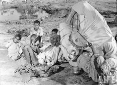 A rare picture of Indian partition in 1947