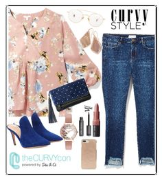 """""""Curvy Flowy"""" by dindamariana on Polyvore featuring Gianvito Rossi, Bobbi Brown Cosmetics, Kate Spade, Olivia Burton, Kendra Scott and Ahlem"""