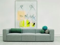 Mags Soft 3-Sitzer Sofa Hay