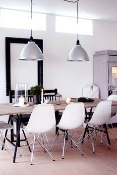 Beautiful dining area.