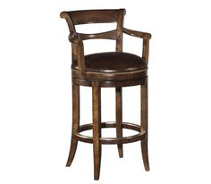 swivel bar stools with back and arms | 7012-11 Swivel Bar Stool