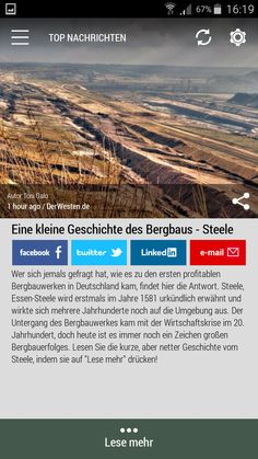 #Born2Invest: die besten Geschäfts- und Finanznachrichten aus den vertrauenswürdigen Quellen. Jetzt unsere kostenlose Android App herunterladen. #history #mining #steel #deutschland