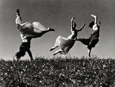 Three Women, 1938.  Photo by Hannes Kilian