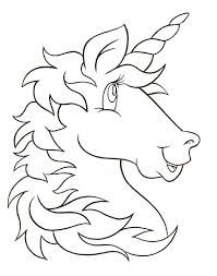 find this pin and more on images print out unicorn head coloring pages for kids - Printable Coloring Pages For Children