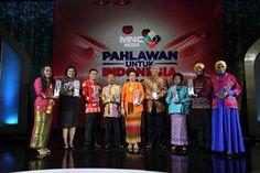 Kapolri & Sejumlah Menteri Hadiri Anugerah Pahlawan untuk Indonesia