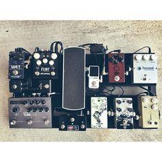 @willhrichardson's pedalboard.