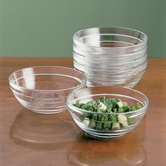 Glass Prep Bowls, Set of 8 on Williams-Sonoma.com..Makes everything easier. Of course my prep chef, my husband makes it even easier. :)