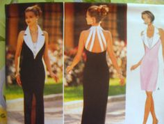 BUTTERICK Sewing Pattern 4003 - MISSES 6,8,10,12 Evening Wear, long or short