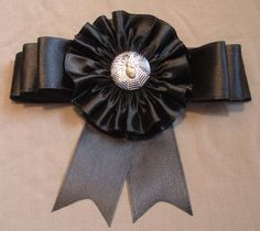 Ribbon Cocarde Cockade Pirate Hat by ClytemnestrasCloset on Etsy, $24.99