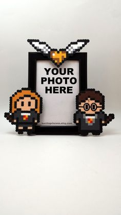 Harry Potter Couples Picture Frame Ginny and by BurritoPrincess
