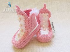 baby shoes princess booties princess booty shoes baby by Jipin, $28.00