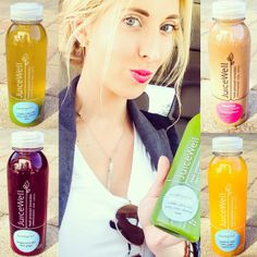 "I'm all about pressed juice cleanses. Health, clarity, weight loss, clearer skin, focused mind... I finished JuiceWell's 3 Day Cleanse and I feel amazing... I already want to do another cleanse! Mention ""Blonder Ambitions"" to receive a 10% discount on any 3 or 5 day cleanse!"