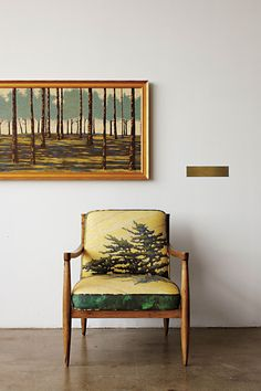 Landscape Painted Chair