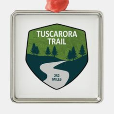 Tuscarora Trail Metal Ornament #christmassledding #Christmassy #christmasmarke ribbon on christmas tree, christmas drawings, christmas drawings easy, back to school, aesthetic wallpaper, y2k fashion John Muir, Wanderlust, Pacific Northwest Trail, Mountain Hiking Outfit, Hiking Gifts, Camping Gifts, Tips Fitness, River Trail, New River