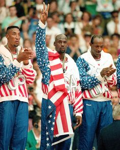 Dream Team Gold - It wasn't his first Olympic experience as Jordan won gold in 1984 with Bobby Knight as coach, but the 1992 Dream Team may be the most memorable group of athletes in Olympic history, and arguably the best basketball team ever. Jordan was the only one to start all eight games in the Olympics, and he averaged 14.9 points.