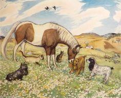 Muriel Dawson - ''Many Friends'' | eBay