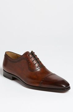 Magnanni 'Ariel' Cap Toe Oxford available at #Nordstrom