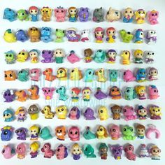 LOT RANDOM SQUINKIES CHARACTERS AND CONTAINERS PACK Robot Wedding Animal Pets #BLIPTOY