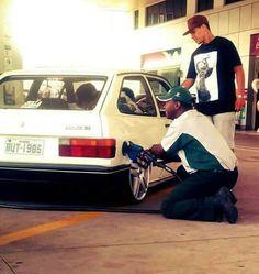 Gol Vw Gol, Rims For Cars, Car Manufacturers, Volkswagen Golf, Van, Vehicles, Pasta, Br Car, Pimped Out Cars