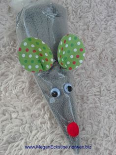 Norwex Body Cloth ~ Christmas Mouse ~ Creative, cute way to gift Norwx!