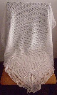Mantas y toquillas on Pinterest | Bebe, Patrones and Mantas Crochet