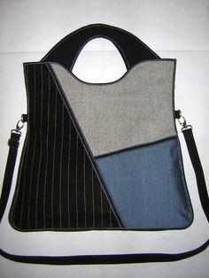 2 dans 1 sac de grosse toile Plus taille élégant sac par mocsi61