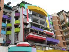 Albania: The Painted Buildings of Tirana | Gadling.com