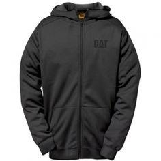 CAT Men's Shield Full Zip Sweatshirt - Black - Mills Fleet Farm