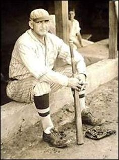 """Banned from professional baseball by Kennesaw Mountain Landis for alleged involvement in the """"Black Sox Scandal"""" of 1919 a 44 year old Shoeless Joe Jackson plays with the semi pro Greenville Spinners circa 1932 White Sox Baseball, Sports Baseball, Baseball Jerseys, Baseball Tickets, Baseball Signs, Baseball Stuff, Hockey, Baseball Cards, Black Sox Scandal"""
