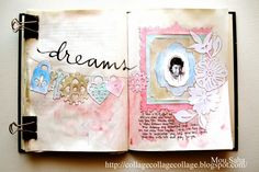 Dreaming on Art Journal page