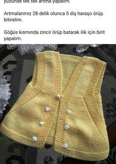 Knitting Designs, Baby Knitting, Baby Dress, Knit Dress, Gardening, Sweaters, Crafts, Dresses, Fashion