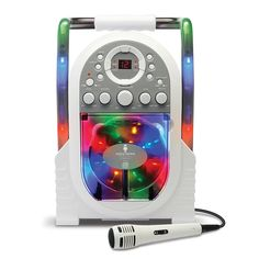 """Singing Machine Portable Karaoke with Built-in Light Show - The Singing Machine - Toys """"R"""" Us $39.99"""
