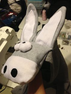 How to Make a Donkey Punch Hoodie - Part 1 Nativity Costumes, Halloween Costumes, Donkey Costume, A Donkey, World Book Day Costumes, Nyan Cat, Snowman Decorations, Super Happy, Fursuit