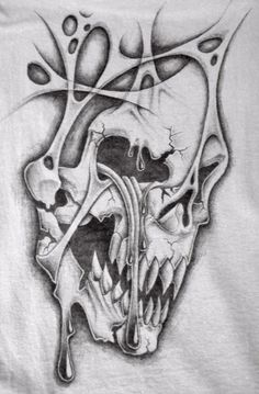 crying skull t shirt by markfellows.deviantart.com on @deviantART