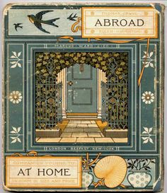 'Abroad' by Ellen Houghton, illustrated by Walter Crane, 1882. Read the book here: