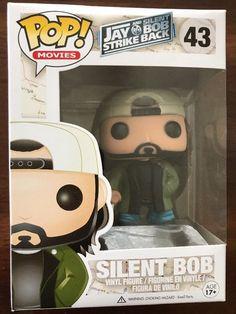 Vaulted Funko POP! Figure MIB - Movies Jay Silent Bob Strike Back SILENT BOB 43    eBay